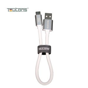 Teutons Zlin Power Bank Cable Type C (data) 15cm - White