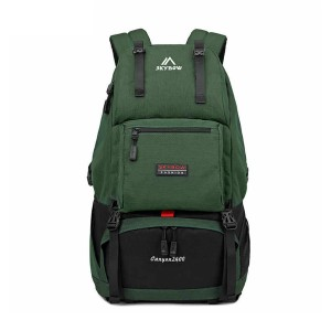 Skybow 8819 Canyon 2400 New Fashion 27l Large Capacity Premium Quality Waterproof Stylish Professional Multifunction Hiking Mounterian Climb Sports Travel Backpack (green)