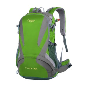 Creeper Yd-260 Tyloo 40l Large Water Resistant Premium Quality And Professional Hiking Mounterian Sports Travel Backpack (green)