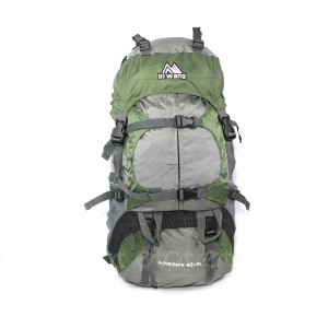 Diwang Adventure 40+5l Large Size Premium Quality Stylish Professional Hiking Mounterian Sports And Travel Backpack With Rain Cover (olive)