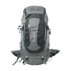 Diwang Adventure 65liters Large Premium Quality Stylish Outdoor Professional Hiking Mounterian Sports And Travel Backpack With Rain Cover (grey)