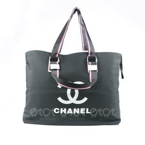 Chanel 6801cc Travel Bag For Women (black)