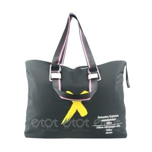 Women Large Size Travel Bag (black)