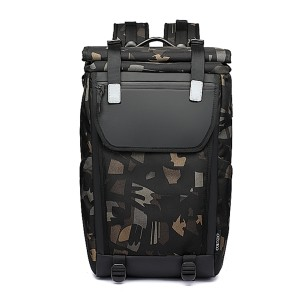 Ozuko 9376 Climbing Large Capacity Design Anti Theft Multifunctional Waterproof Outdoor Sports And Travel Backpack (camo)