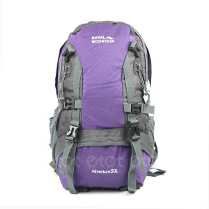 Royal Mountain 8417-22# Adventure 50l Large Size Premium Quality Stylish Professional Hiking Mounterian Sports And Travel Backpack With Rain Cover