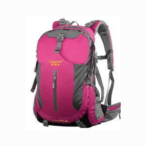 Creeper X-8168 Tyloo 40l Nylon Water Resistant Premium Quality And Professional Bear System Climbing Camping Hiking Mounterian Sports Travel Backpack (pink)