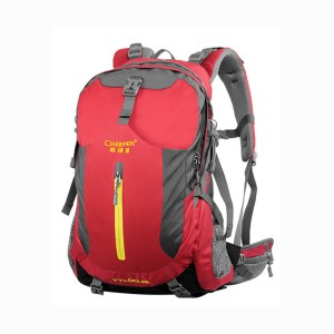 Creeper X-8168 Tyloo 40l Nylon Water Resistant Premium Quality And Professional Bear System Climbing Camping Hiking Mounterian Sports Travel Backpack (red)