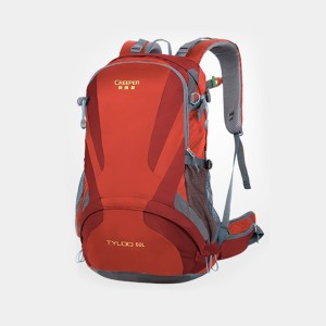 Creeper Yd-260 Tyloo 50l Large Water Resistant Premium Quality And Professional Hiking Mounterian Sports Travel Backpack (red)