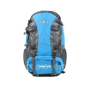 Can Torp 45+5 Ltr Outdoor Sports Mountaineering Waterproof Travel Backpack With Rain Cover (blue)
