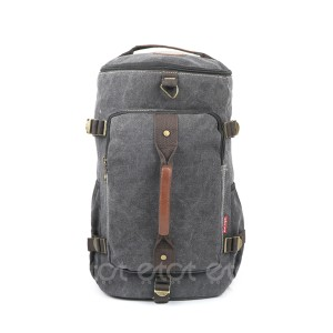 Jin Ling Di 1723# 23l Premium Quality Stylish Shoulder Travel Duffle Hiking Mounterian Sports Bag (black)
