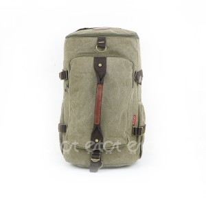 Jin Ling Di 1723# 23l Premium Quality Stylish Shoulder Travel Duffle Hiking Mounterian Sports Bag (light Bottle Green)