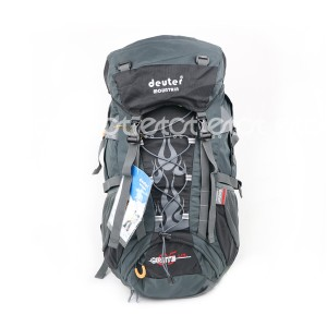 Deuter Mountain G34# 65 Lit Large Premium Quality Hiking And Outdoor Professional Travel Backpack (black)