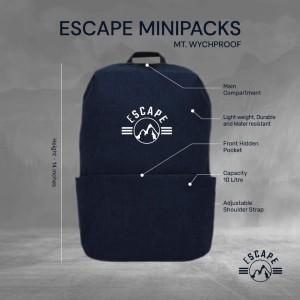 Escape Mini Backpack (black)