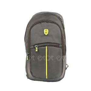 Cat Cycling Biker Running Notepad Mini Backpack Bag (dark Chocolate)