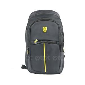 Cat Cycling Biker Running Notepad Mini Backpack Bag (black)
