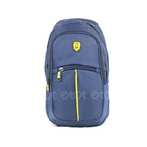 Cat Cycling Biker Running Notepad Mini Backpack Bag (blue)